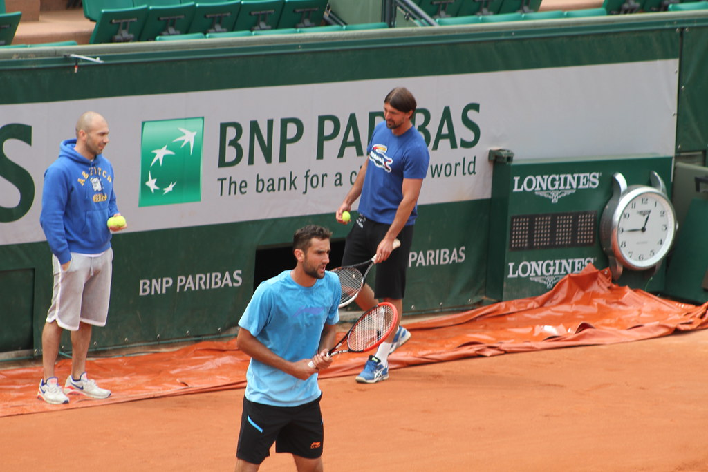 Marin Cilic and Goran Ivanisevic