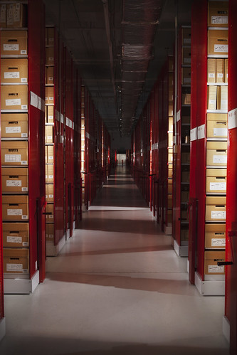 Archives New Zealand Lower Level Three Stacks | by Archives New Zealand