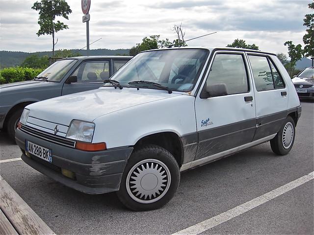 1990-1991 RENAULT Super 5 GTR Saga