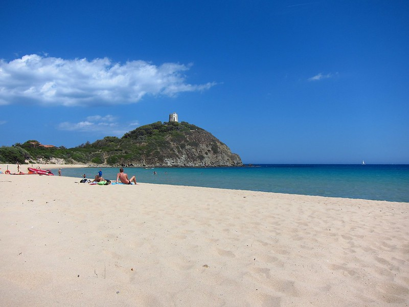 The Lovely Beach Of Sa Colonia