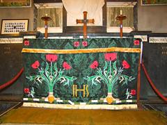 war memorial altar