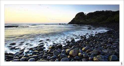 ocean sea seascape water rock sunrise dawn nikon shoreline nsw boulderbeach lennoxhead d90 stephenbird