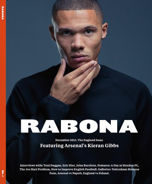 Kieran Gibbs for Rabona Magazine