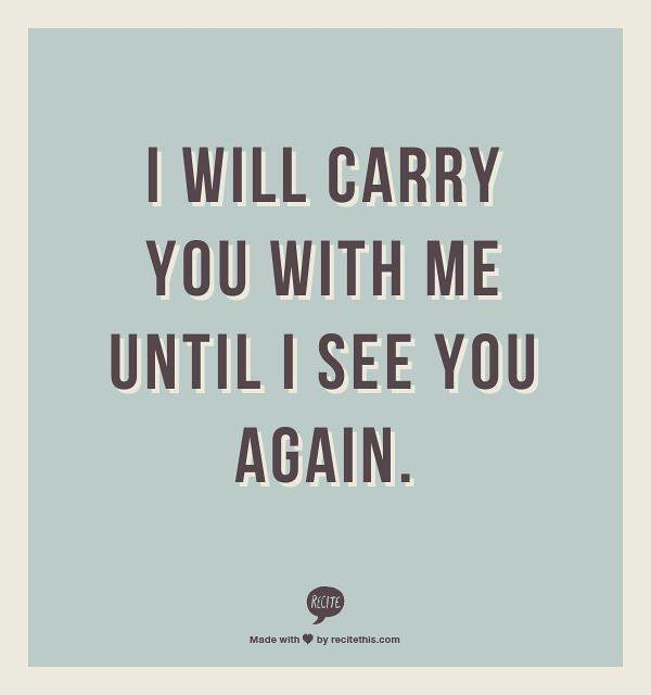 See You Again Quotes 1