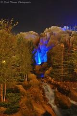 Fantasy Blue Waterfall