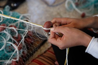 Providing a safety 'net' for Syrian women in Lebanon | by DFID - UK Department for International Development