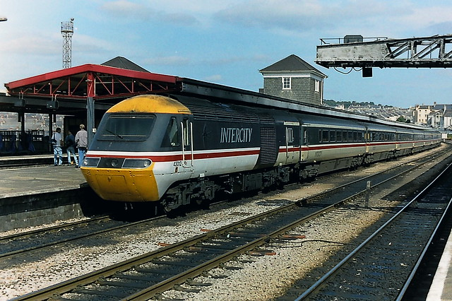 Class 43 43012 in Intercity livery at Plymouth