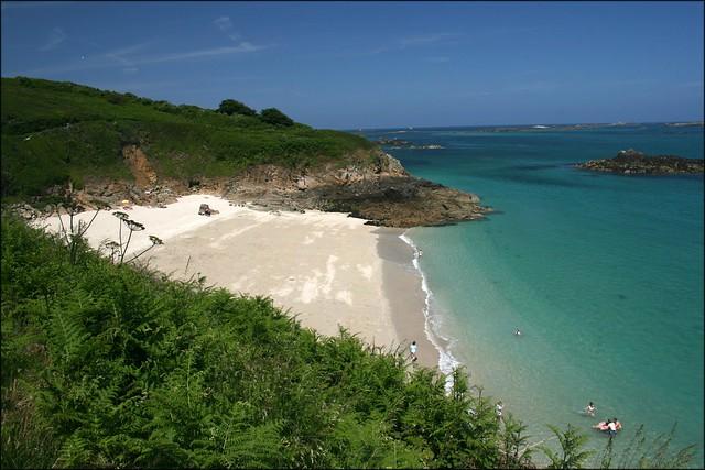 Belvoir Bay, Herm Island