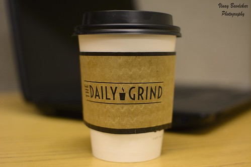 Coffee break from the grind