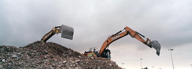 Schiphol demolishers TX1