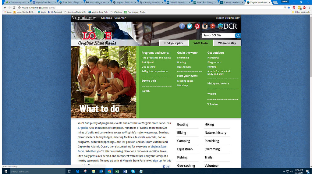 What To Do Virginia State Parks Website Uploaded By Sa For Flickr