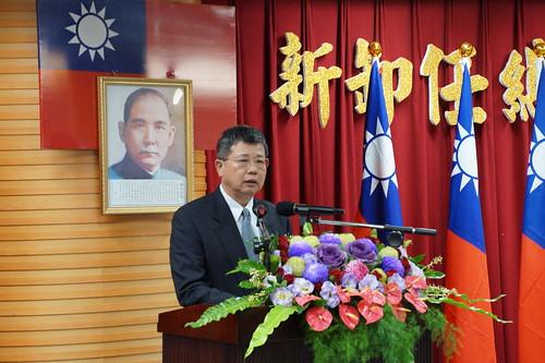 圖05新任劉晟熙總經理就職宣言