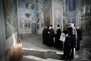 Литургия в Иверском монастыре 300