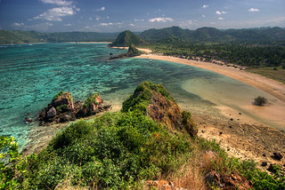 Kuta Lombok from Above | by hapulcu