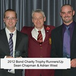 072 - Sean Chapman & Adrian West Bond Charity Trophy Runners-Up