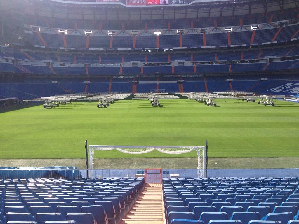 Estadio Bernabéu en Madrid