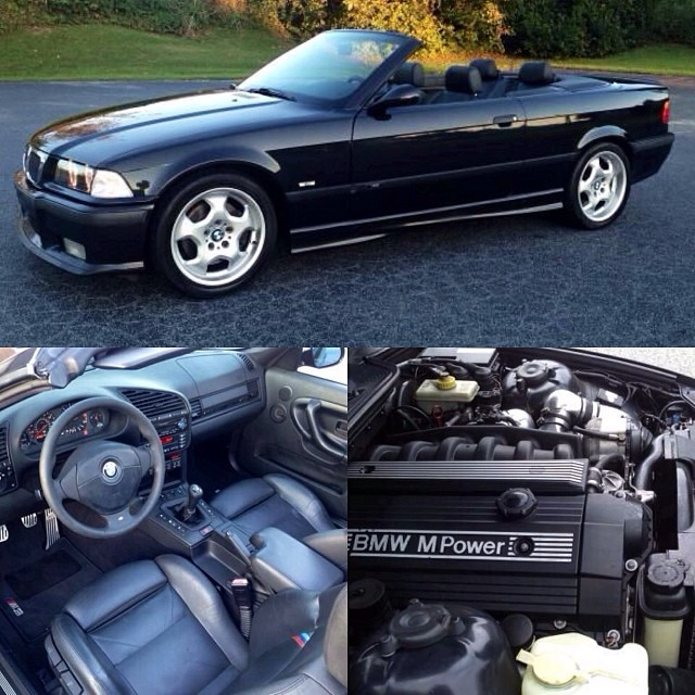 Fun find! 1999 #BMW #M3 E36 Cabrio pushing out 360hp! Sell