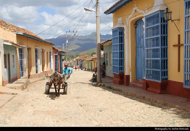 View along Calle Amargura, Trinidad, Cuba