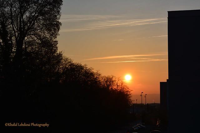 Sunrise in France