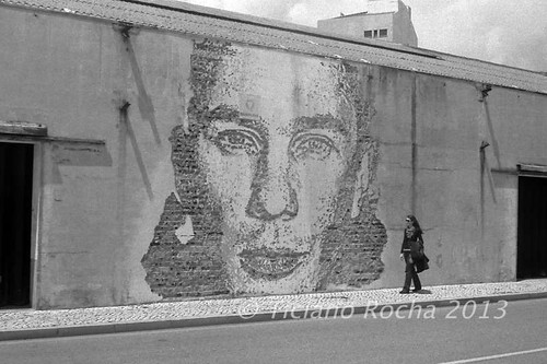 Vhils work | by Ticiano Rocha