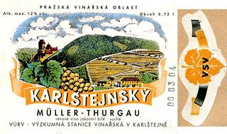 Czech Republic - Karlstejnsky 1998