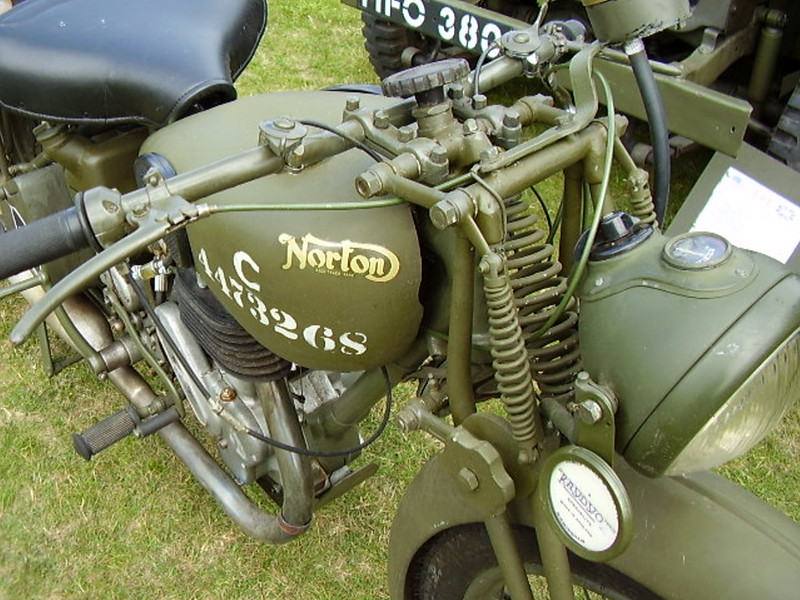 Norton (WD)16H Motorcycle (4)