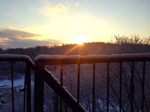 sunset snow cold ice newjersey bright cloudy nj flair boonton iphone colorvibefilter