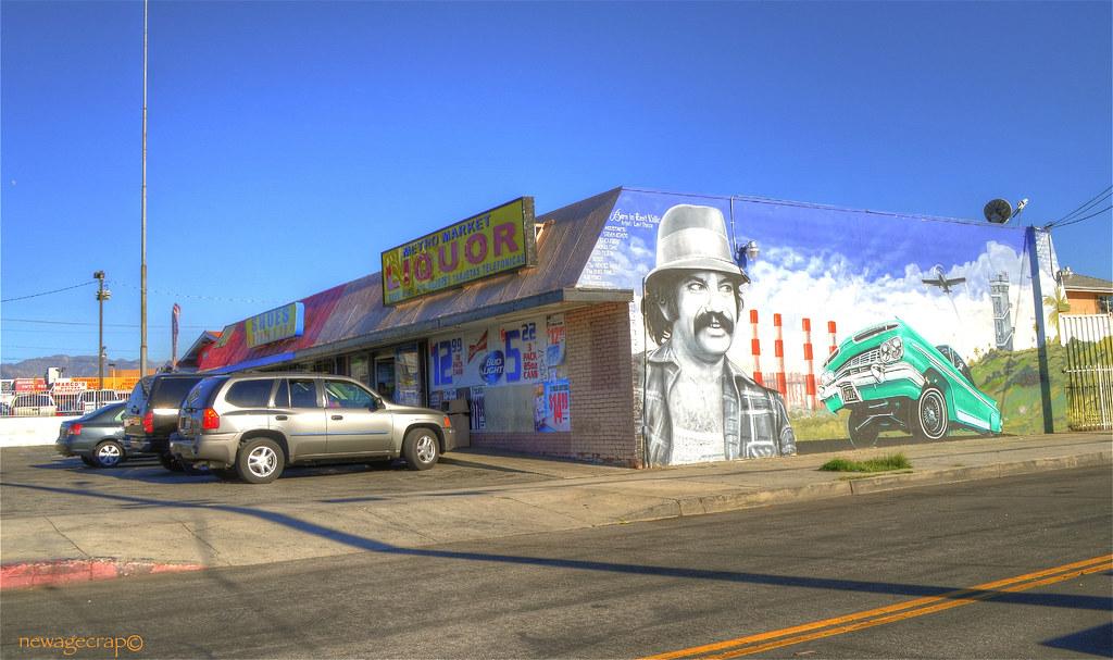 Cheech on Metro Market Liquor Pacoima | The artist who paint… | Flickr