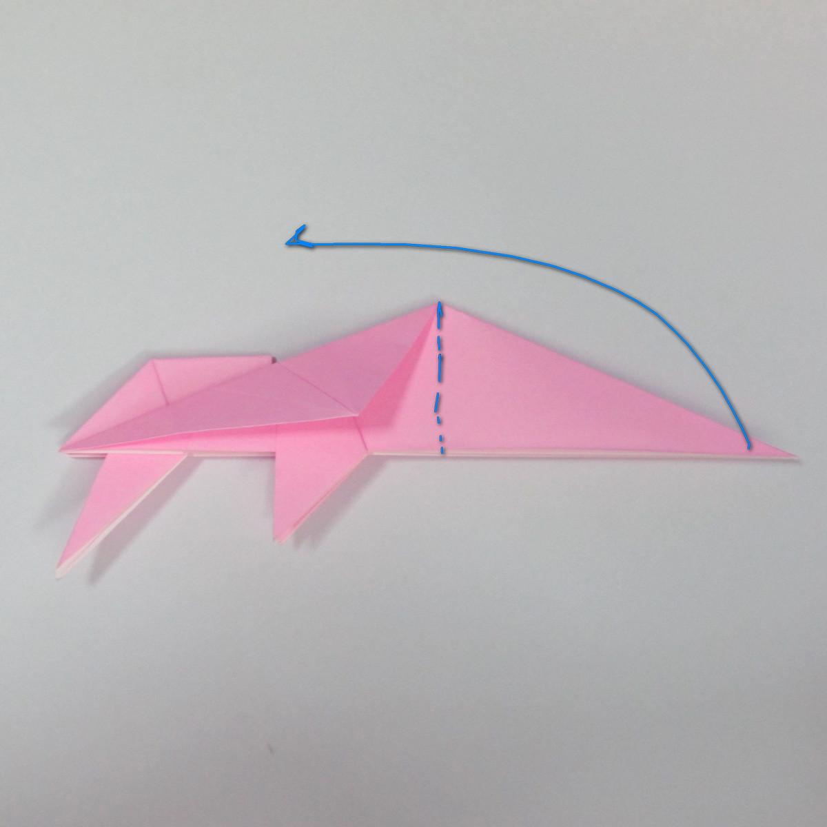สอนการพับกระดาษเป็นลูกสุนัขชเนาเซอร์ (Origami Schnauzer Puppy) 051