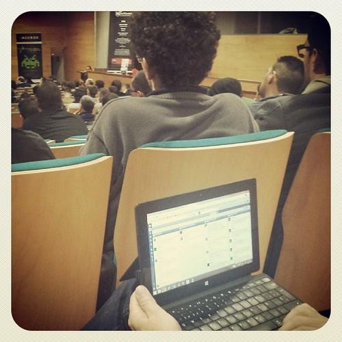 Terminando el 1er dia del I Congreso sobre Seguridad Informática en #HackronTenerife   by Pedro Baez Diaz @pedrobaezdiaz