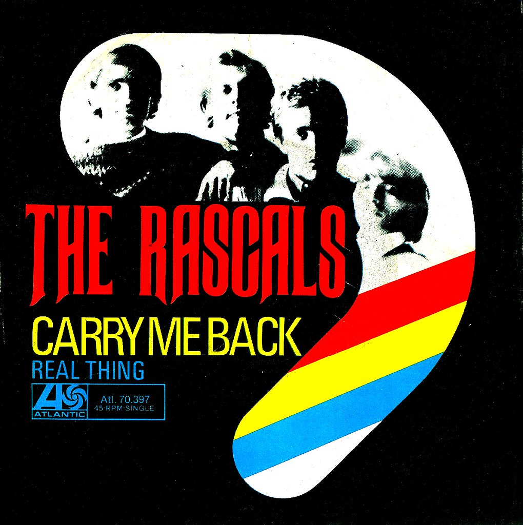 Image result for carry me back rascals single images
