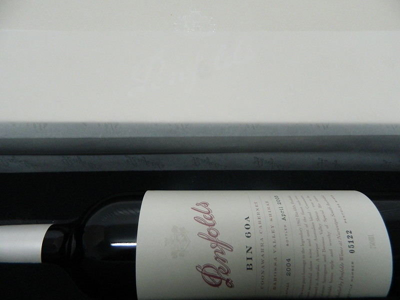PENFOLDS 'special bin 60a' Coonawarra Cabernet & Barossa Valley Shiraz 2004 - Rated 100 Points James Suckling  & 99+ Points by The Wine Advocate (Lisa Perotti-Brown)
