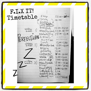 F.I.X IT! Timetable #ABeautifulMess #gtd | by Lyceum