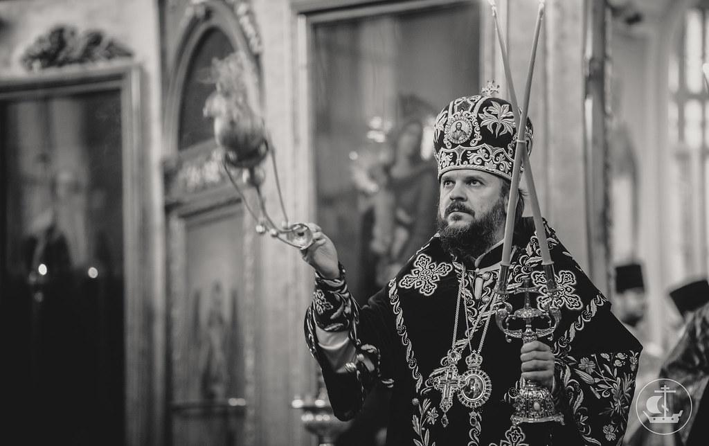 """15 марта 2017, Литургия Преждеосвященных Даров. Иконы Божией Матери """"Державная"""" / 15 March 2017, Divine Liturgy of the Presanctified Gifts. """"Reigning"""" Icon of the Most Holy Theotokos"""