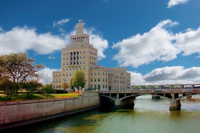 Veterans Memorial Building ~ Cedar Rapids  Iowa