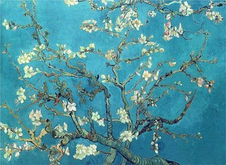 Vincent Van Gogh/ branches with almond blossom (1890) | by innerchild.com.gr