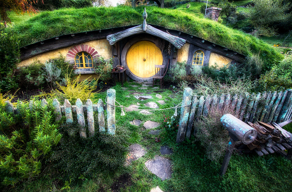 Hobbit House from Lord of the Rings by Michael Matti | Flickr
