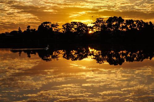 sunrise landscape canningriver