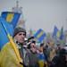 A protester at Euromaidan