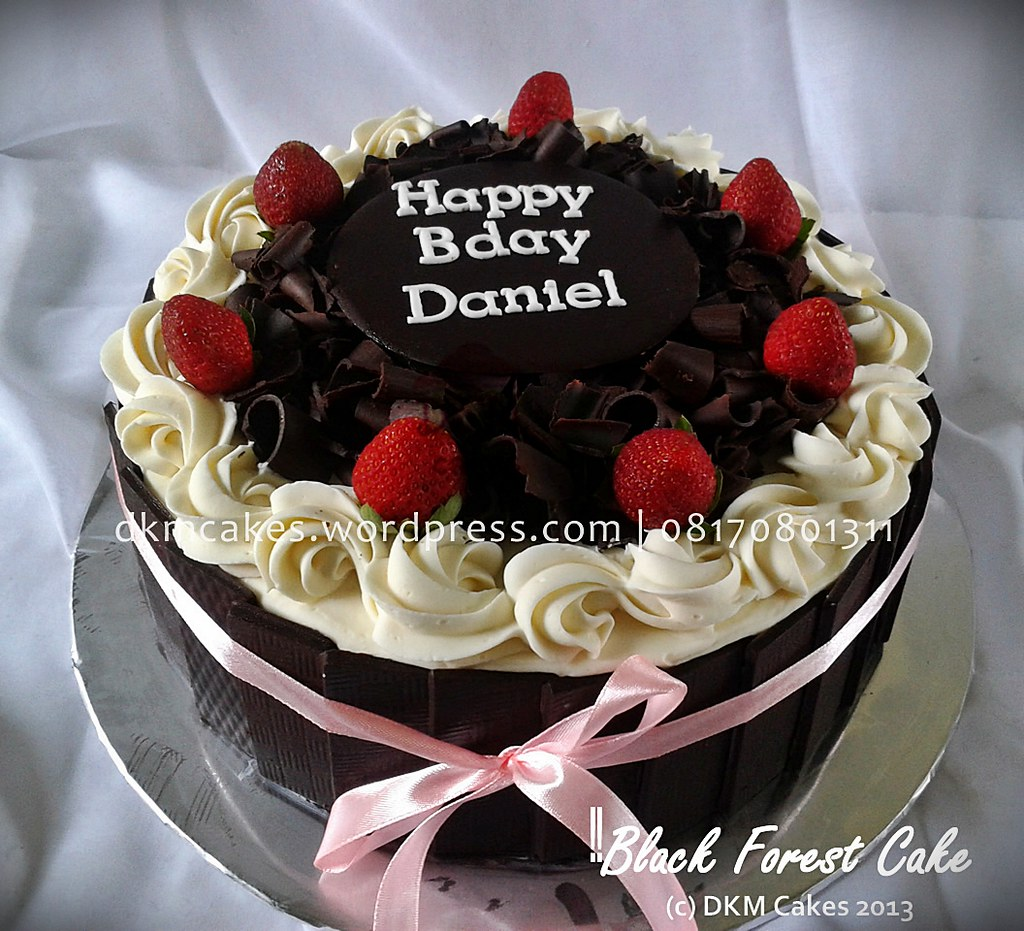 Black Forest Cake Yuli Dkm Cakes Nina Septiningtyas Flickr