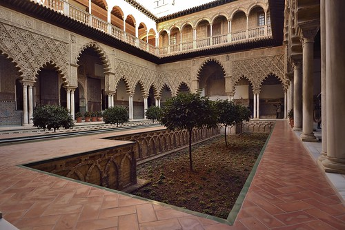 Patio interior del Cuarto Alto - Alcázar de Sevilla | by CarlosJ.R
