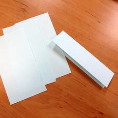 วิธีการพับกระดาษเป็นดอกบัวแบบแยกประกอบส่วน 009