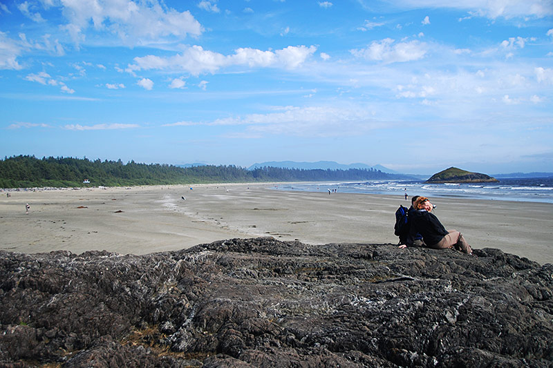 Incinerator Rock Beach, Tofino, West Coast Vancouver Island, British Columbia