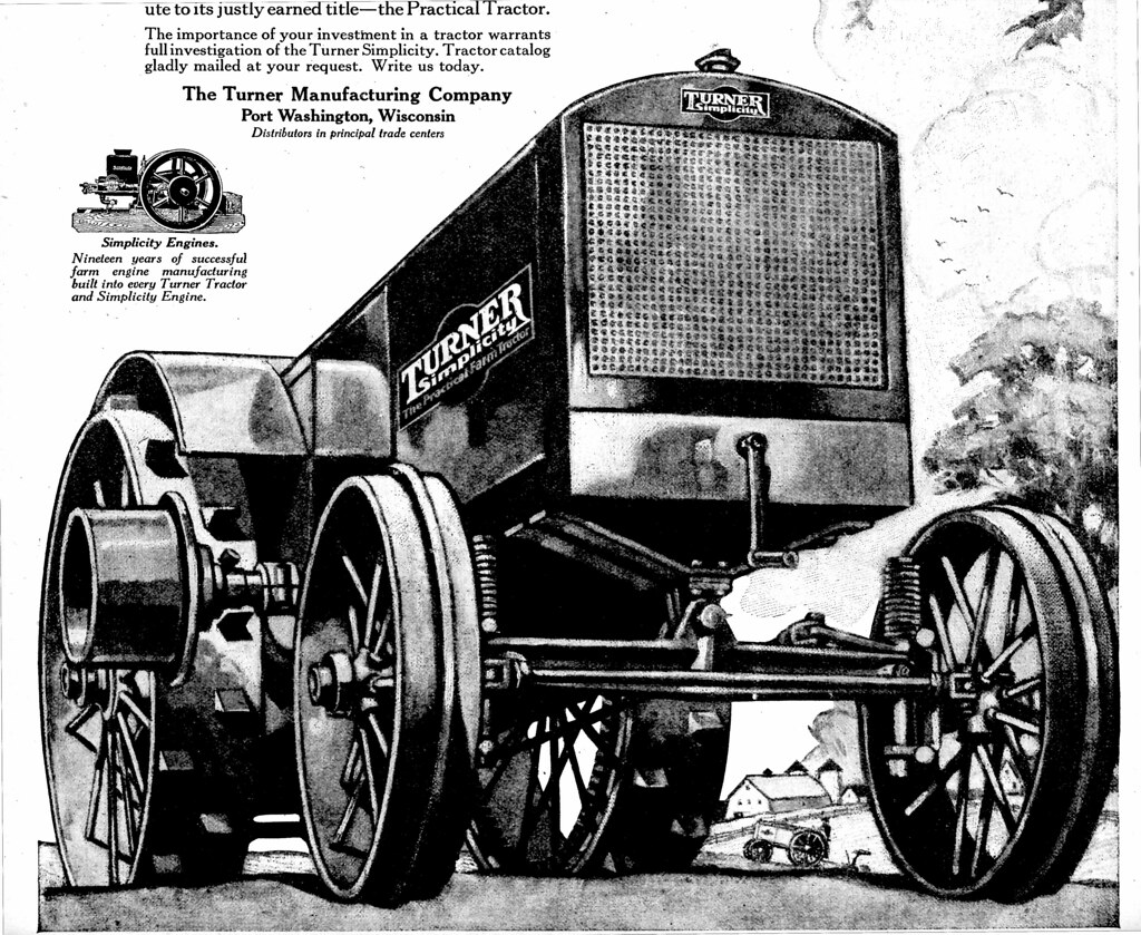 1919 Turner Tractor | May 17, 1919 Country Gentleman | Don O