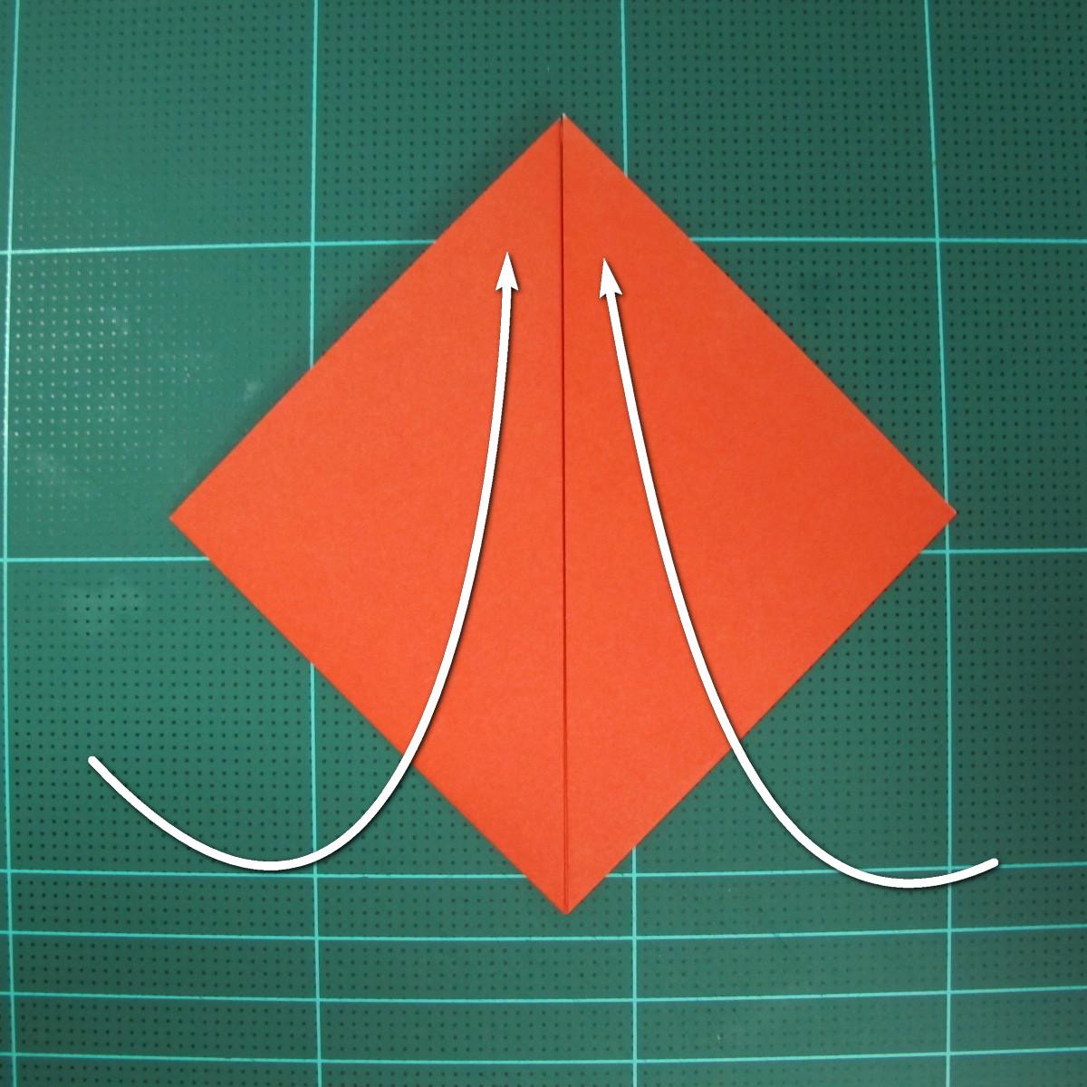 การพับกระดาษเป็นนกพิราบ (Origami pigeon) 00004