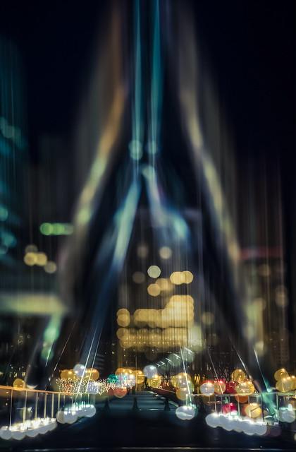 Downtown Hartford at Night