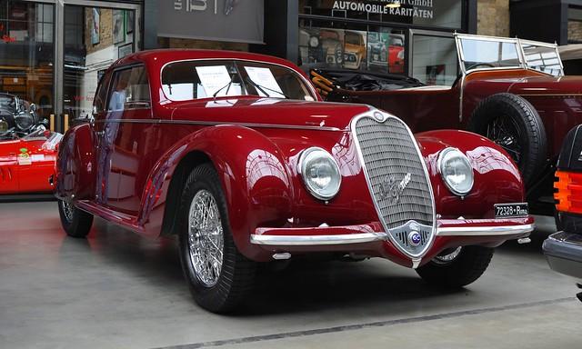 Alfa Romeo 6C 2500 Sport Berlinetta Touring Superleggera (1939)