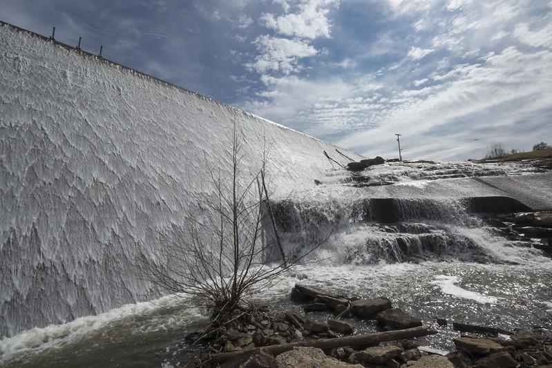 Meadow Creek dam, Meadow Creek Park, Putnam County, Tennessee 3