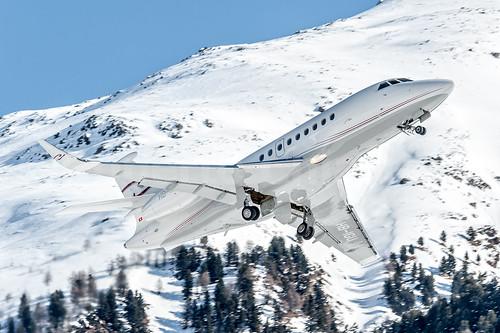 Dassault Falcon 2000 HB-IGU   by kiartz