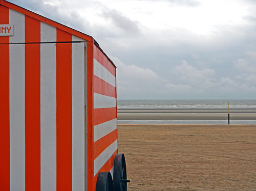 at Knokke-Heist on the Belgian Coast